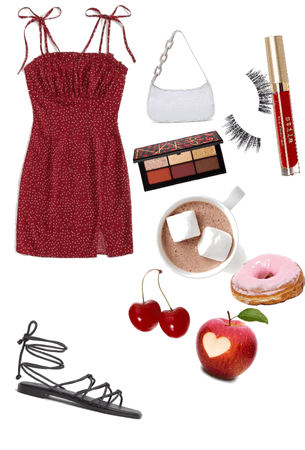 cute Dressy Valentine's Day outfit #2.