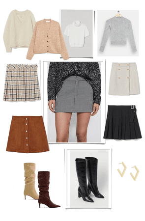 Fall outfit mit skirt