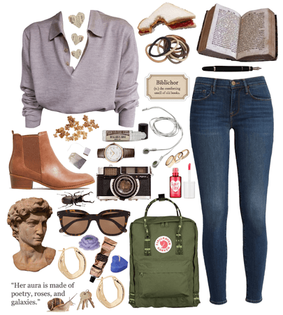Arts College Student - College Outfit