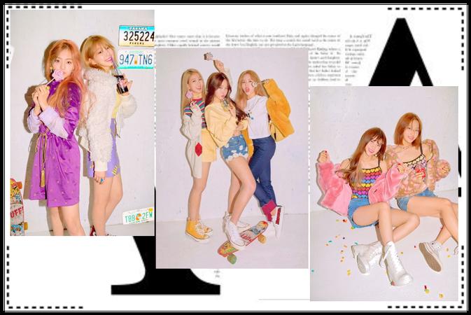 THE DOLLS (인형) NYLON KOREA Magazine Photoshoot