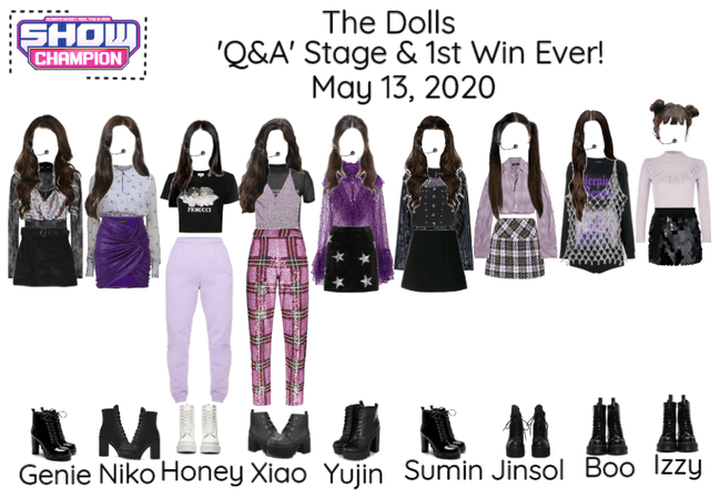 [The Dolls - Q&A] Show Champion & Read D