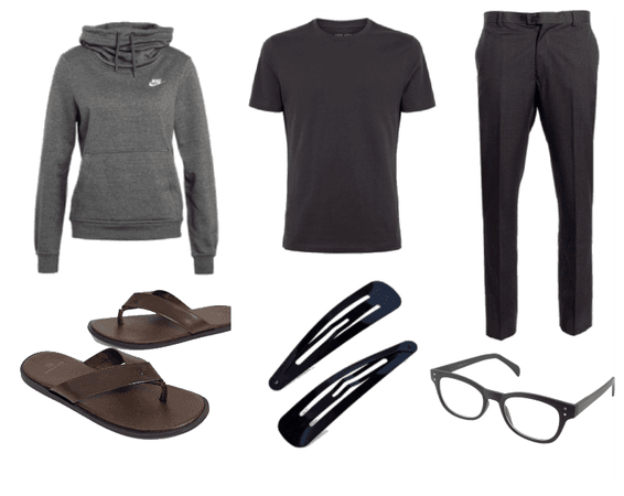 Casual After-Workout OOTD