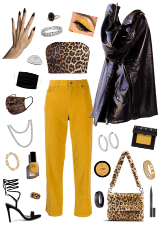 Outfit for this leopard bag!