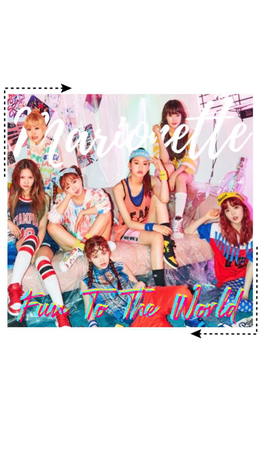 """{MARIONETTE} """"Fun To The World"""" Group Teaser"""