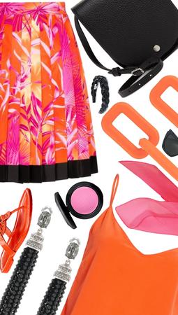pink and orange 🍊💓