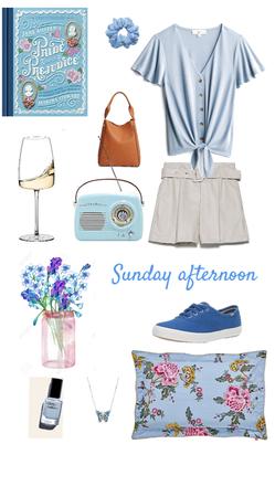Summer sunday afternoon