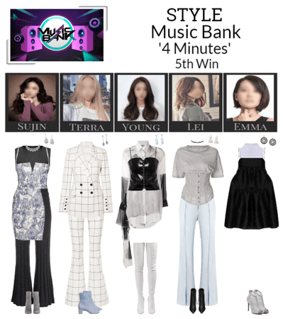 STYLE Music Bank '4 Minutes'