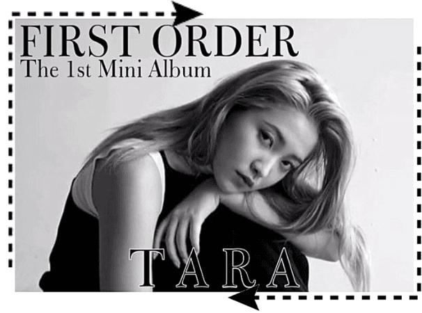 """TARA&NANI """"First Order"""" 'TARA' CONCEPT PHOTO 2"""