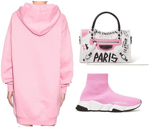 pink Balenciaga