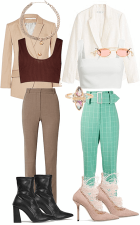 jackets and crop tops