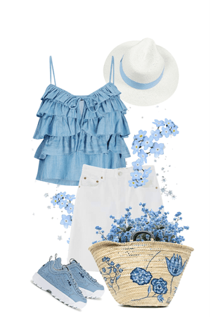 Blue and White Are Perfect Summer Partners!
