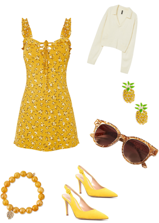 my yellow summer pallet