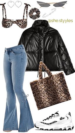 leopard print look