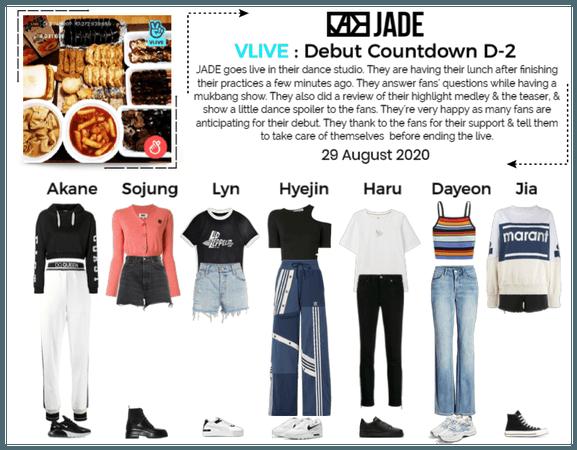 JADE [제이드] VLIVE App | 200829