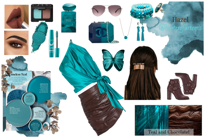Timeless Teal | Teal and Chocolate Style