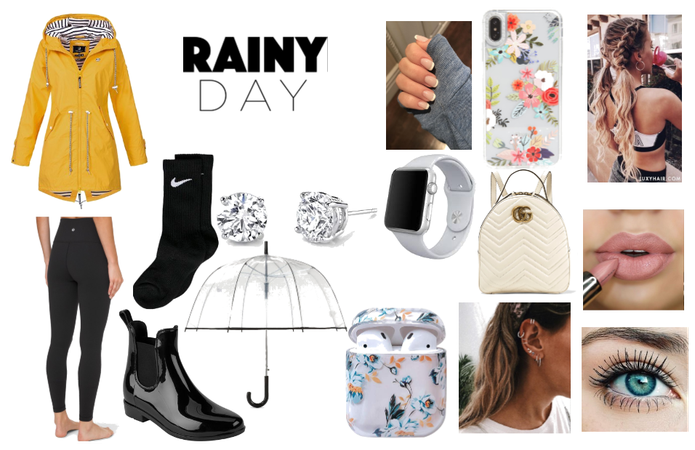 comfy rainy day