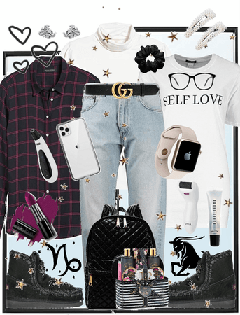 Capricorn Casual and Comfy Style