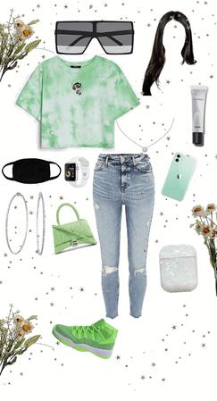 girly green stuff