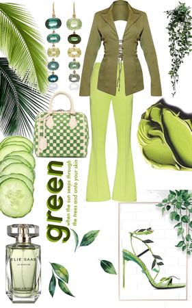 Bossy Green Machine