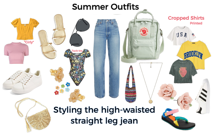 High Waisted Jean (Summer)