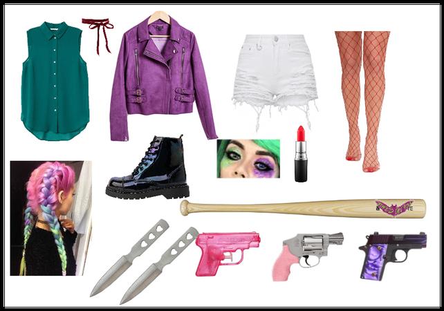 Girl Joker Outfit