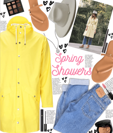 Yellow Spring Showers ☔️ 💛