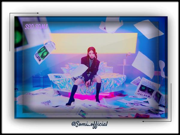 ~Somi Comeback Poster Coming In June~