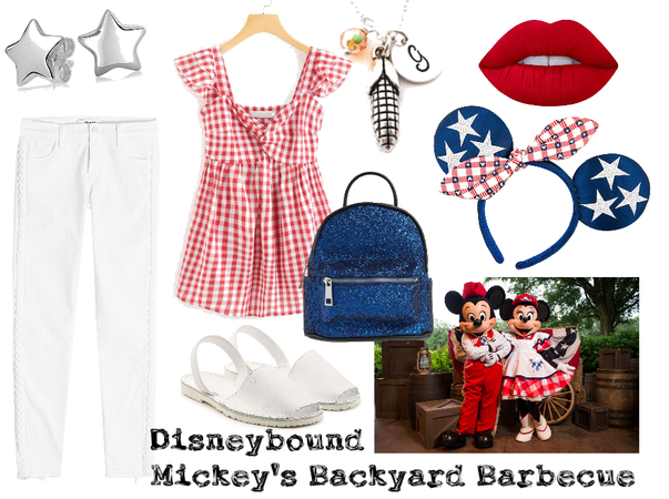 Disneybound Mickey's Backyard Barbecue