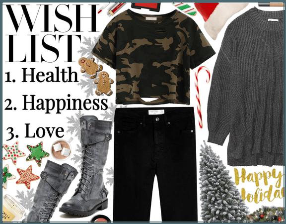 Yule Wishlist: Health, Happiness, Love