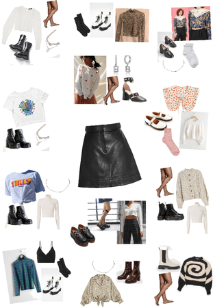 12 Ways to Style a Leather Skirt