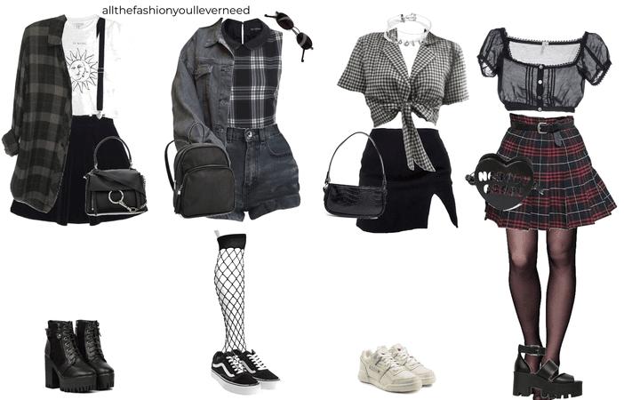 punk concert outfits