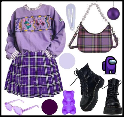 Purple indie kid