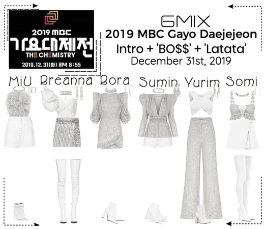《6mix》2019 MBC Gayo Dajejeon - Performance