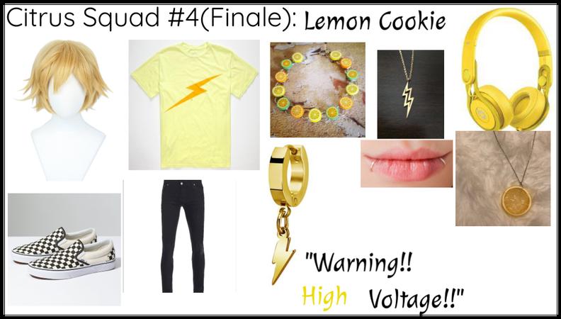 Citrus Squad #4(Finale): Lemon Cookie