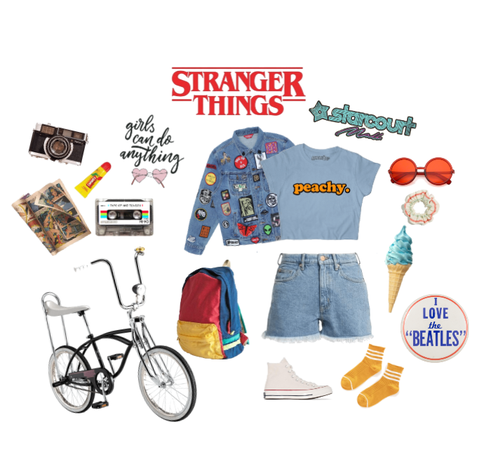 Stranger Things - Starcourt Style