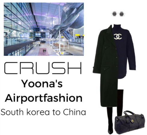 Yoona's airportfashion