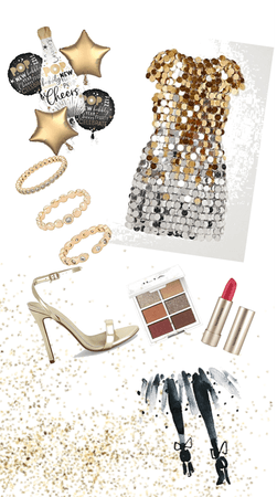 all the glam and glitter