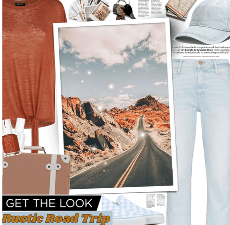 Get The Look: Rustic Road Trip.