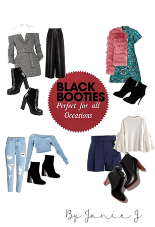 black boots: all occasions