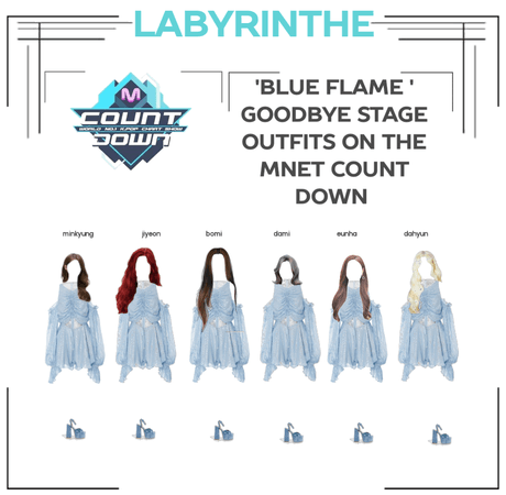 LABYRINTHE blue flame goodbye stage
