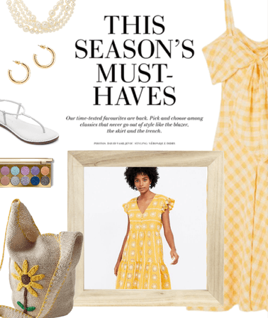 Spring Colors: Yellow