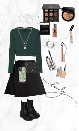 the green moderen outfit