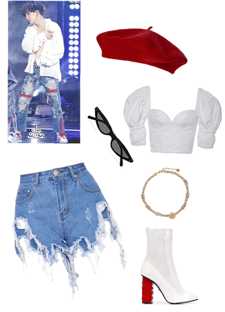 Yoongi inspired outfit