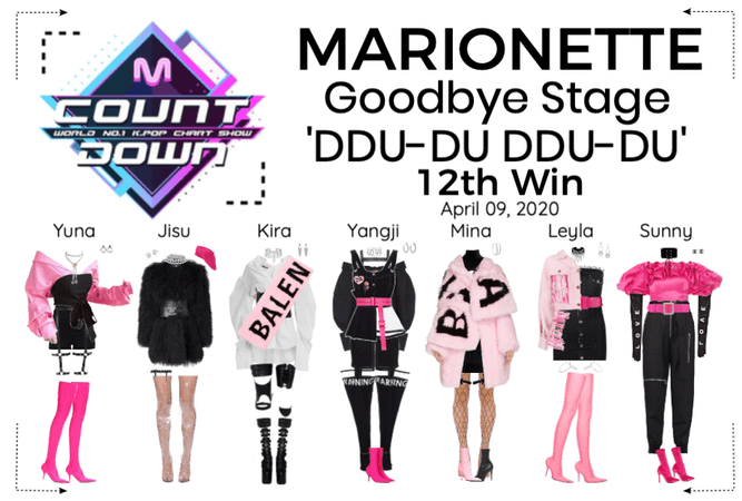 MARIONETTE (마리오네트) [M COUNTDOWN] Goodbye Stage
