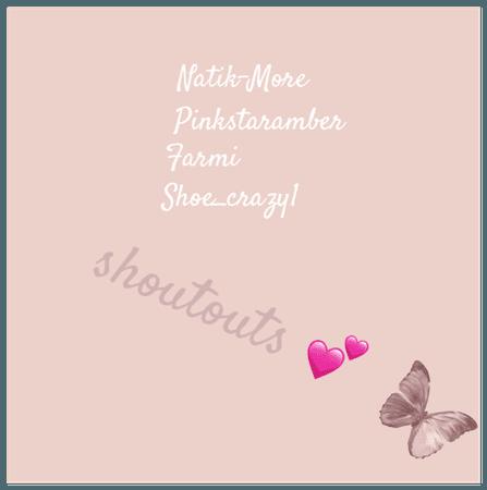 shoutouts 💕