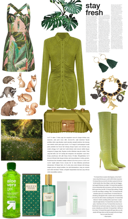 Forest themed outfit