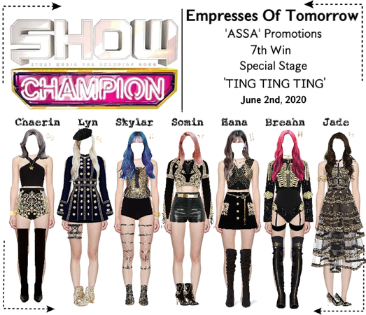 EOT(내일의 황후) | Show Champion 7th Win