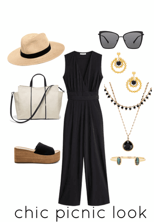 Chic picnic look