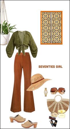 Seventies girl..