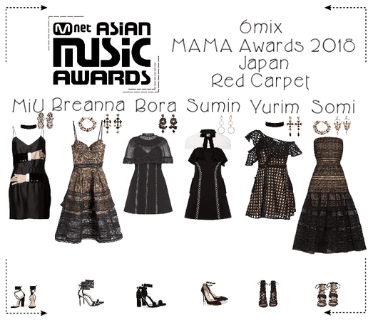 《6mix》Mnet Asia Music Awards Japan Red Carpet 2018